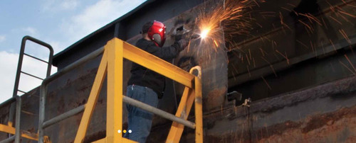 HYPERTHERM Powermax 65 AIR PLASMA CUTTING MACHINE during construction