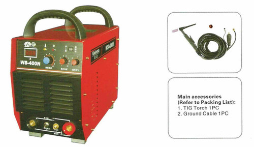 Kaierda Tig Welding machine WS400N with accessories