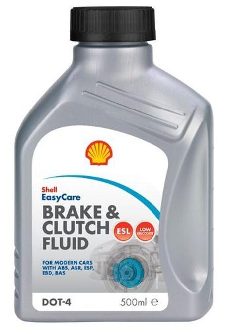 Shell Dot 4 Brake & Clutch Fluid  500ml