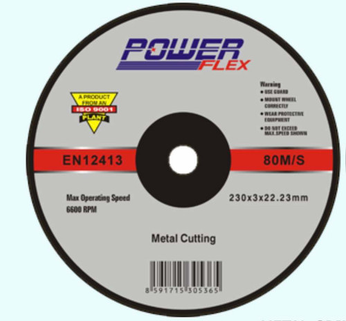 Powerflex Grinding disc 7 inch 180mm