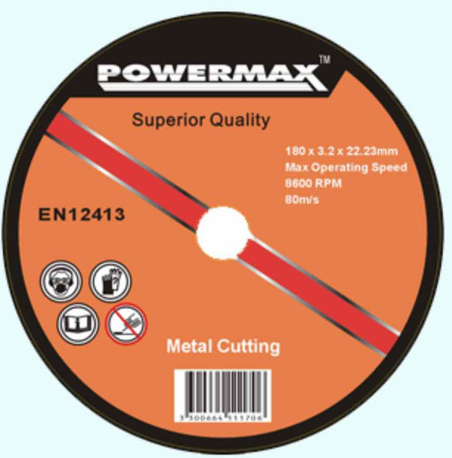 PowerMax Grinding Disc 7 inch 180mm