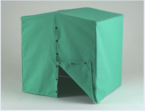 Welders welding tent heavy duty canvas 2m X 2m x2m with frame