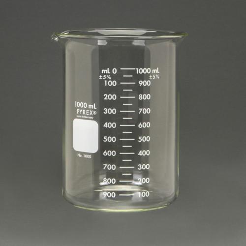 Beaker 1000ml - Pyrex