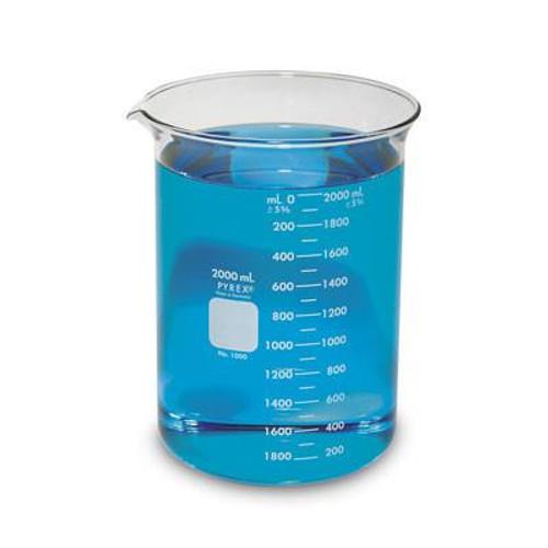 Beaker Propylene  2000ml -  Pyrex