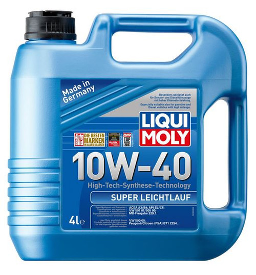 LIQUI MOLY Engine Oil SUPER LEICHTLAUF 10W-40 4Liters