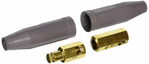 Tweco® male and female welding cable connector