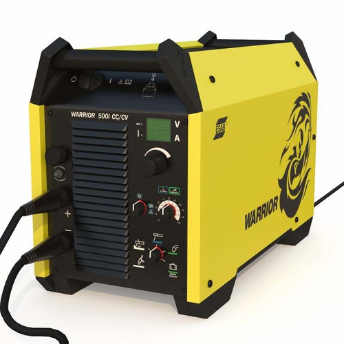 Esab warrior 500i Multipurpose Inverter arc welding machine 3-D