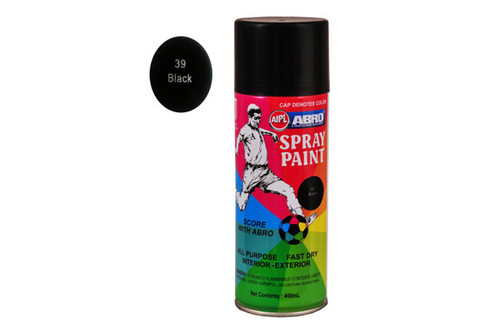 Abro spray paint (black)