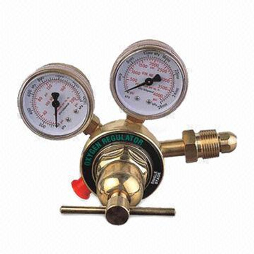 Oxygen gas cylinder regulator two stage Victor make