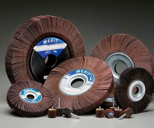 Flap Wheels and Accessories from Norton follows a complex shape and contours engineered to provide stable finish with an unvarying rate of cut, flap wheels wear away, frequently uncovering fresh grinds.