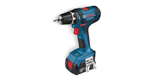 Bosch GSR 14,4-2-LI Professional cordless drill/driver The most important data Battery voltage 14,4 V Max. screw diameter 7 mm Max. torque (hard/soft) 34 / 16 Nm