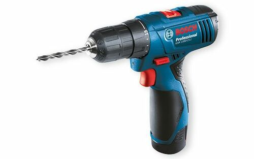 Bosch GSR 1080-2-LI corless drill/driver Give your performance a boost. Worth the upgrade.  Affordable price with great value set  Bosch uncompromising quality: best in class battery system (ECP), long lifetime  10.8V 2-speed Drill Driver with powerful performance (soft torque 11Nm) to cover major applications