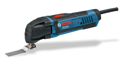 Buy Bosch GOP Professional 250 CE multi-cutter online at GZ Industrial Supplies Nigeria. The most important data Rated power input 	250 W No-load speed 	8.000 – 20.000 rpm Oscillation angle on left and right 	1,4 °