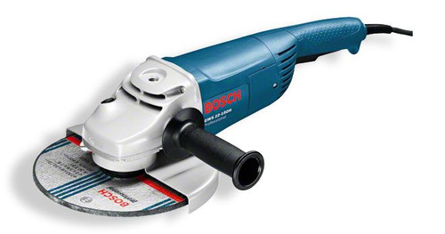 Buy Bosch GWS 22-180H Professional Angle Grinder online at GZ Industrial Supplies Nigeria. The most important data Rated power input 	2.200 W No-load speed 	8.500 rpm Disc diameter 	180 mm