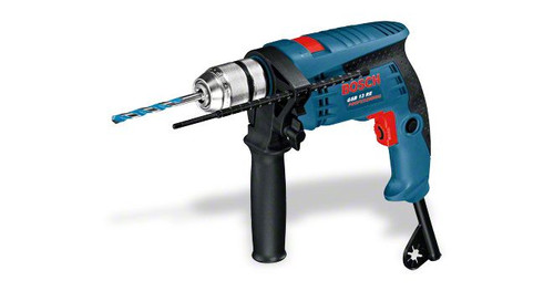 Buy Bosch GSB 13 RE professional Impact Drill online at GZ Industrial Supplies Nigeria. The most important data Rated power input 	600 W Drilling diameter in masonry 	15 mm Drilling diameter in wood 	25 mm