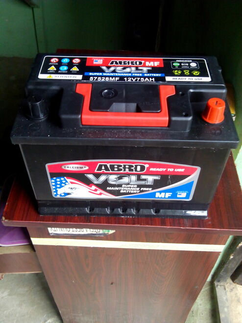 Abro Automotive Car Battery 75AH 12V