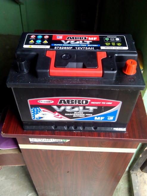 Abro Automotive Car Battery 75AH 12V