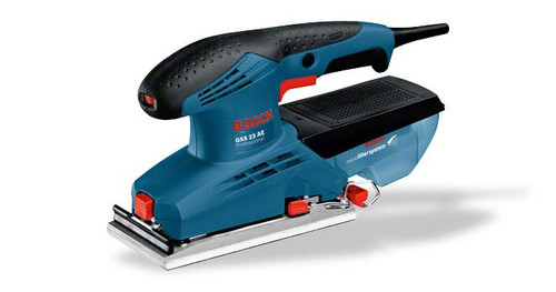 Buy Bosch GSS 23 AE Professional orbit sander in case online at Gz industrial supplies Nigeria The most important data Rated power input 190 W Sanding plate, width 92 mm Sanding plate, length 182 mm