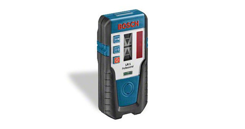 Buy Bosch LR 1 Professional Laser receiver online at GZ Industrial Supplies Nigeria. The most important data Range of 	0 – 200 m Power supply 	1 x 9 V 6LR61 Block Dust and splash protection 	IP 65