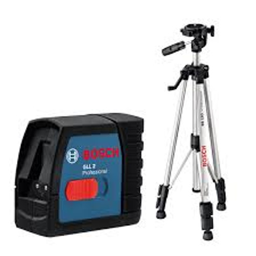 Buy Bosch GLL 2 Professional Cross Line Laser + BS 150 Tripod online at GZ Industrial Supplies Nigeria.