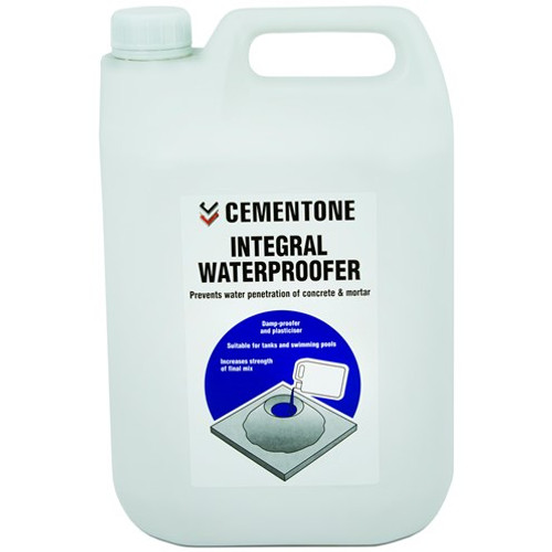 Bostik Cementone integral waterproofer 2.5 liters