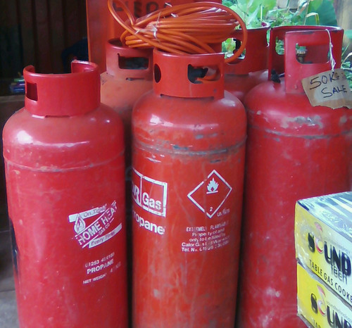 Propane gas (50kg LPG cylinder returnable)