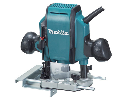 "Makita Router RP 0900 8mm (3/8""), 860W"