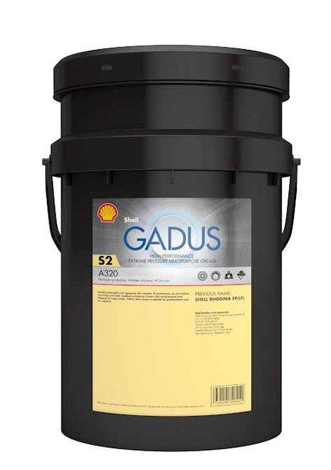 Shell Gadus S2 A320 2 Grease Formerly Shell Rhodina EP2 grease