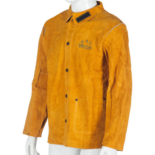 Welders welding Jacket Leather