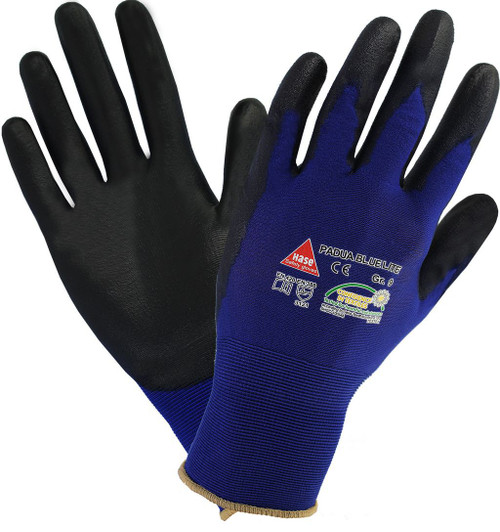 Safety hand glove Padua blue Hase safety work wear