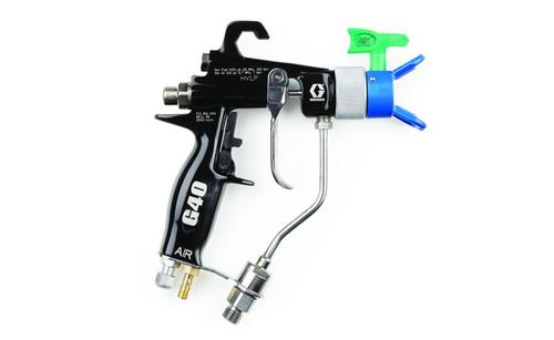 Graco G40 Air assited Spray Gun with RAC Tip on sale