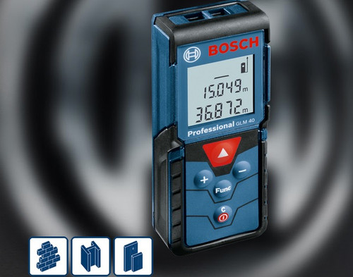 Bosch GLM 40 Professional measuring laser 2