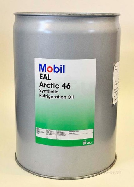 MOBIL EAL ARCTIC 46 SYNTHETIC COMPRESSOR OIL 20 LITERS