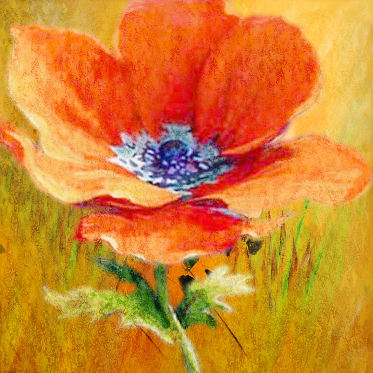 Buy poppy flower 3 by community artists group rs 7290 code poppyflowering plantherbaceous annual biennialshort lived perennial plants mightylinksfo