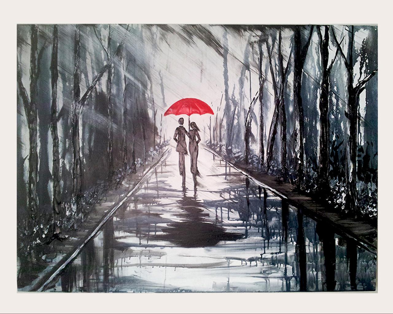Buy LANDSCAPE PAINTING P-50 Handmade Painting by DARSHANA ...