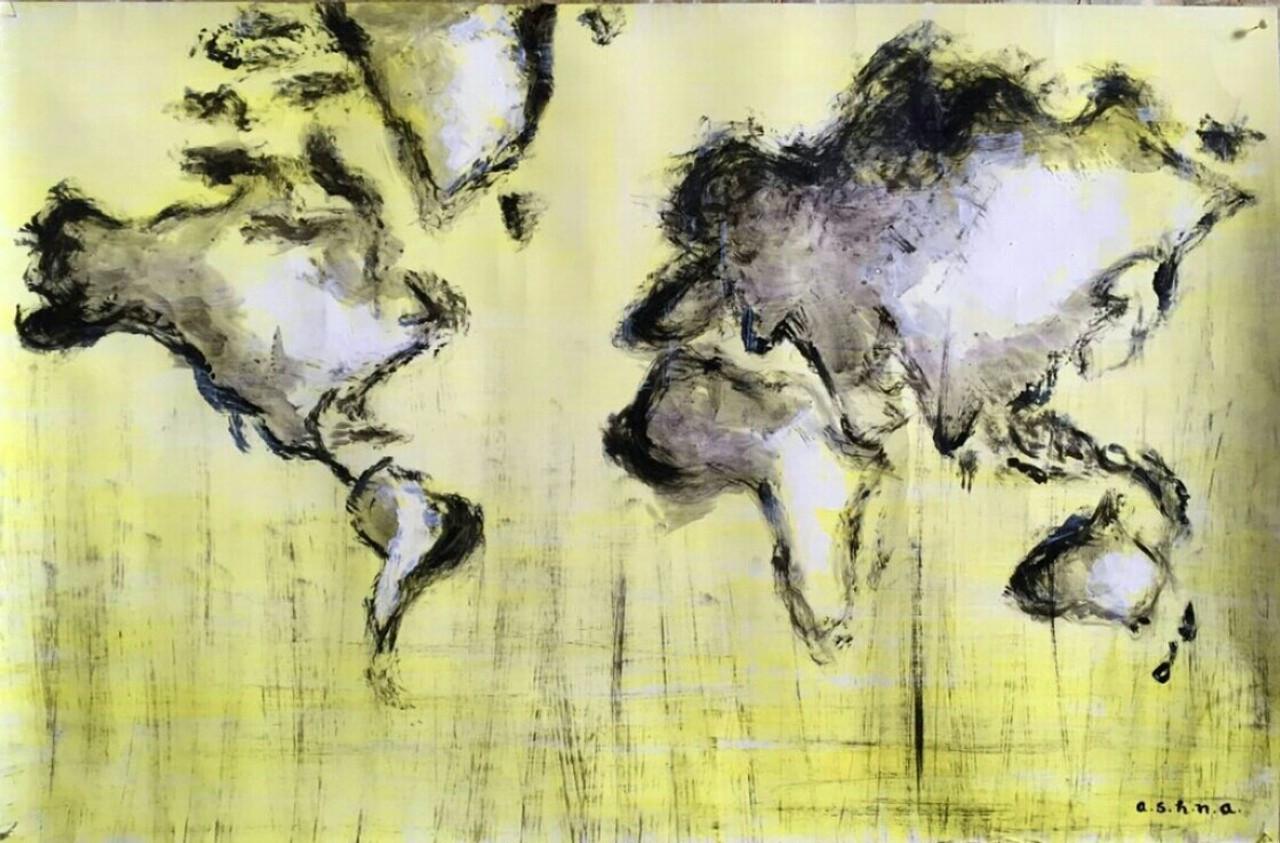 Buy everdiscovering handmade painting by ashna ralh code world mapeverdiscoveringart149912169artist ashna ralhacrylic gumiabroncs Gallery