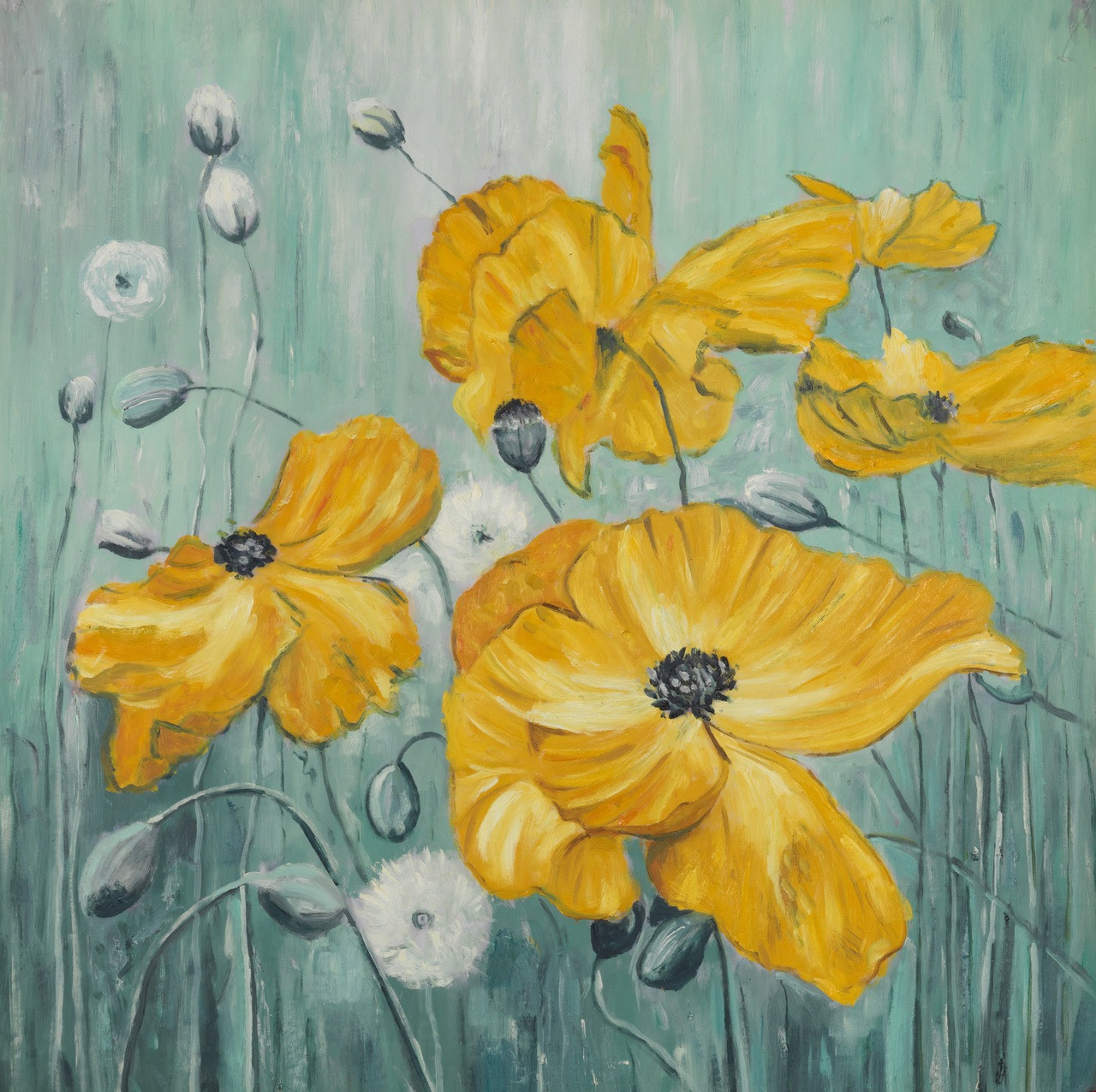 Buy beautiful floral handmade painting by community artists group floral paintingsyellow flower paintingsflower paintingsbeautiful paintingsbeautiful floral mightylinksfo