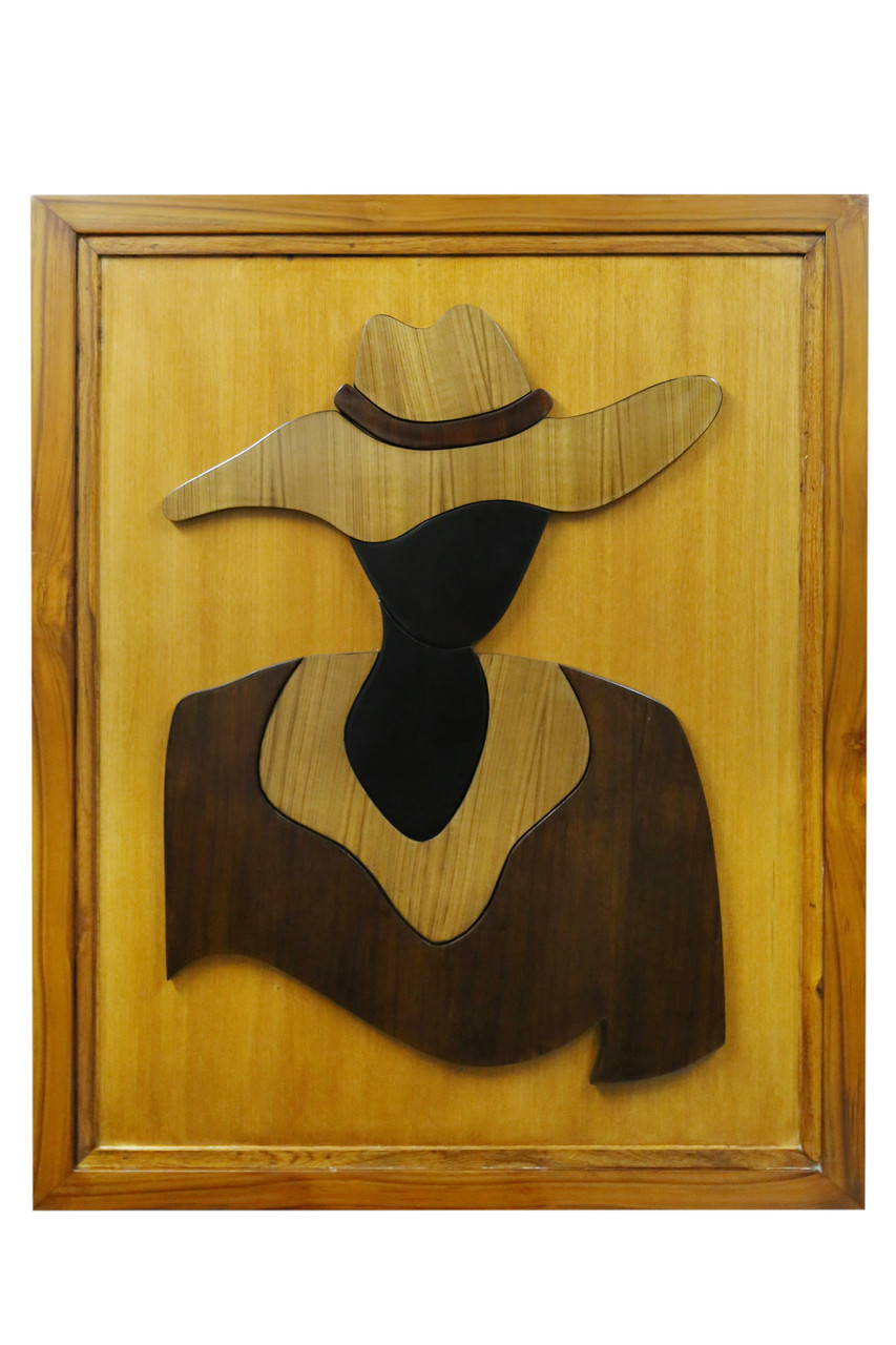 Buy Beautiful Cowgirl Handmade Painting by Sunil Monga. Code ...