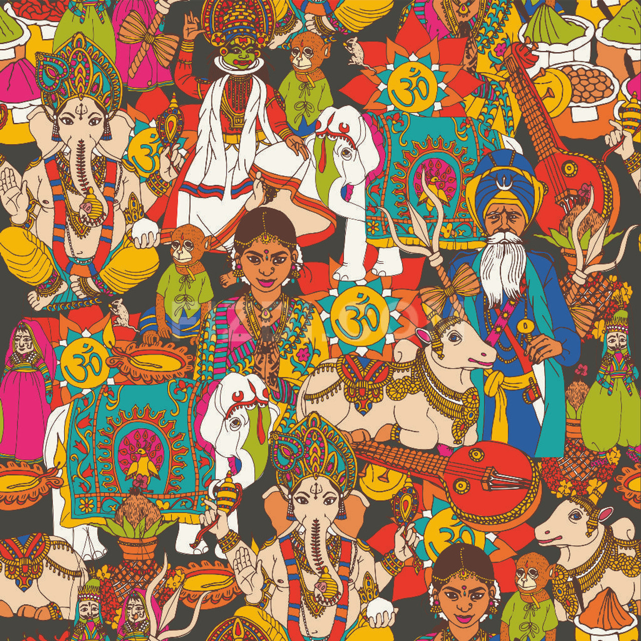 Art From India Indian Culture