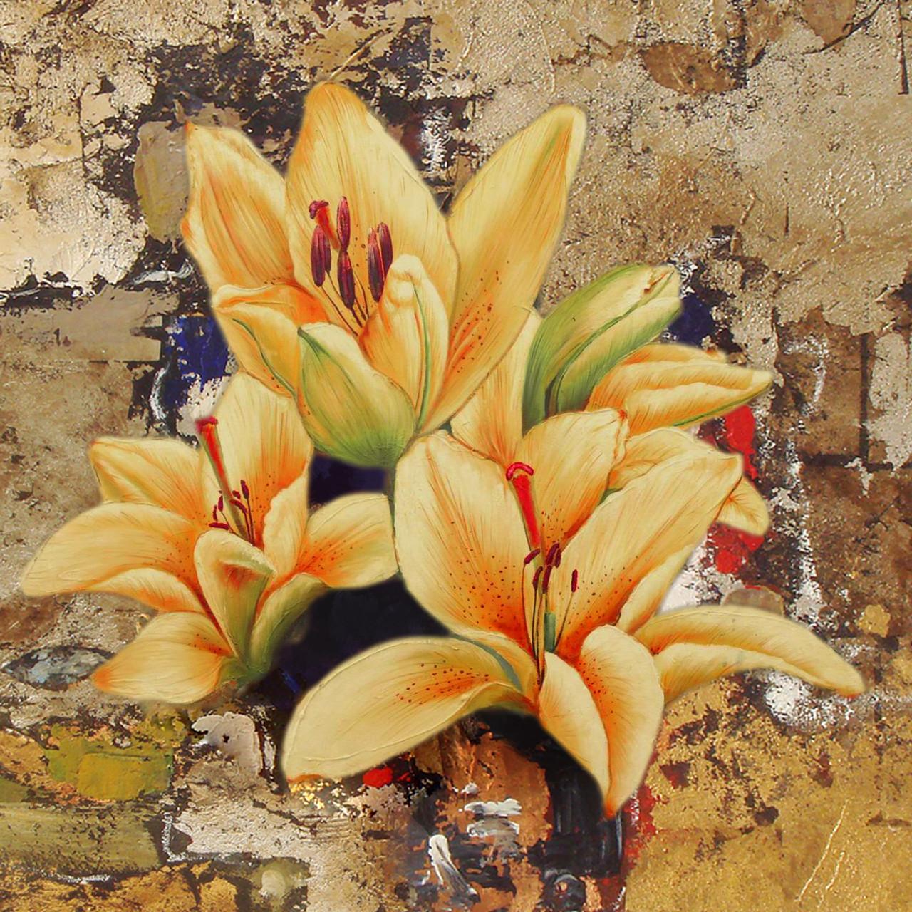 Yellow flowers 24in x 24in floralslatest collection buy yellow flowers 24in x 24in28flower1672424yellow brownrs1890 mightylinksfo