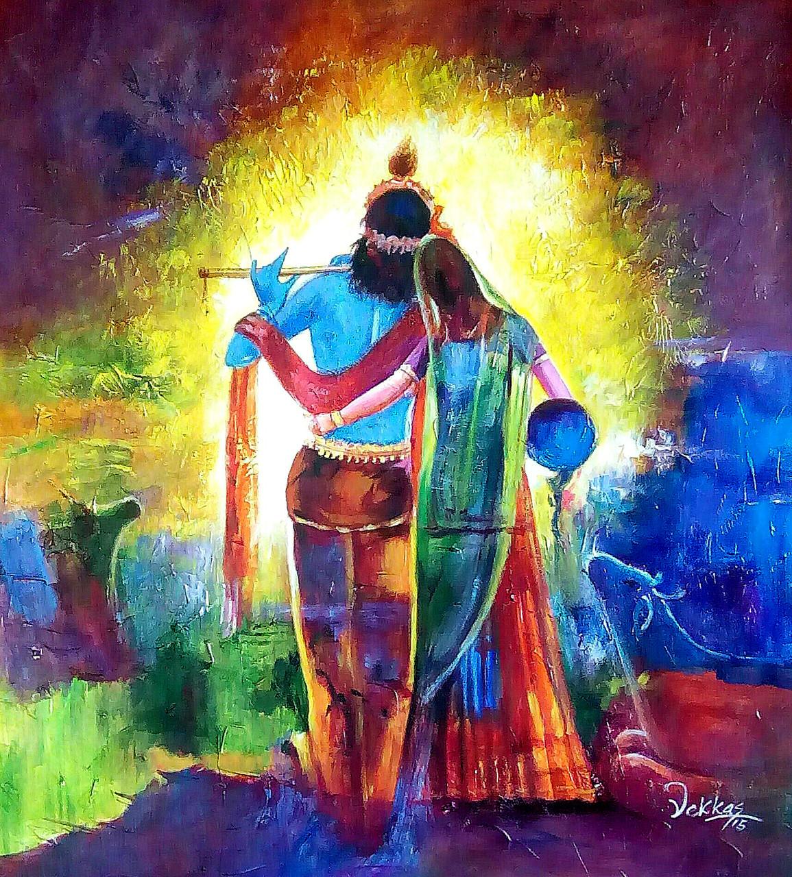 Buy Radha And Krishna 1 By Vekkas Mahalley Rs 8590 Code