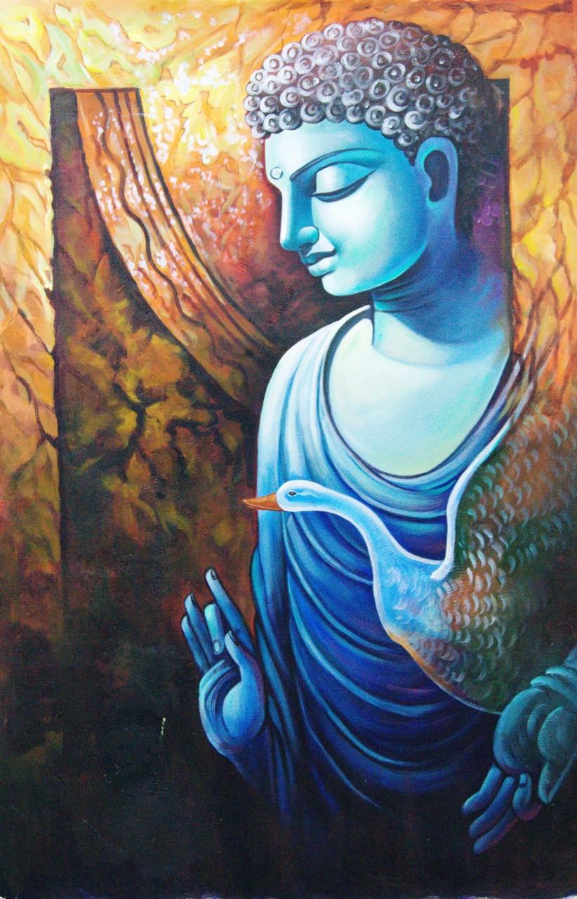 Buy Buddha Paintings Online India