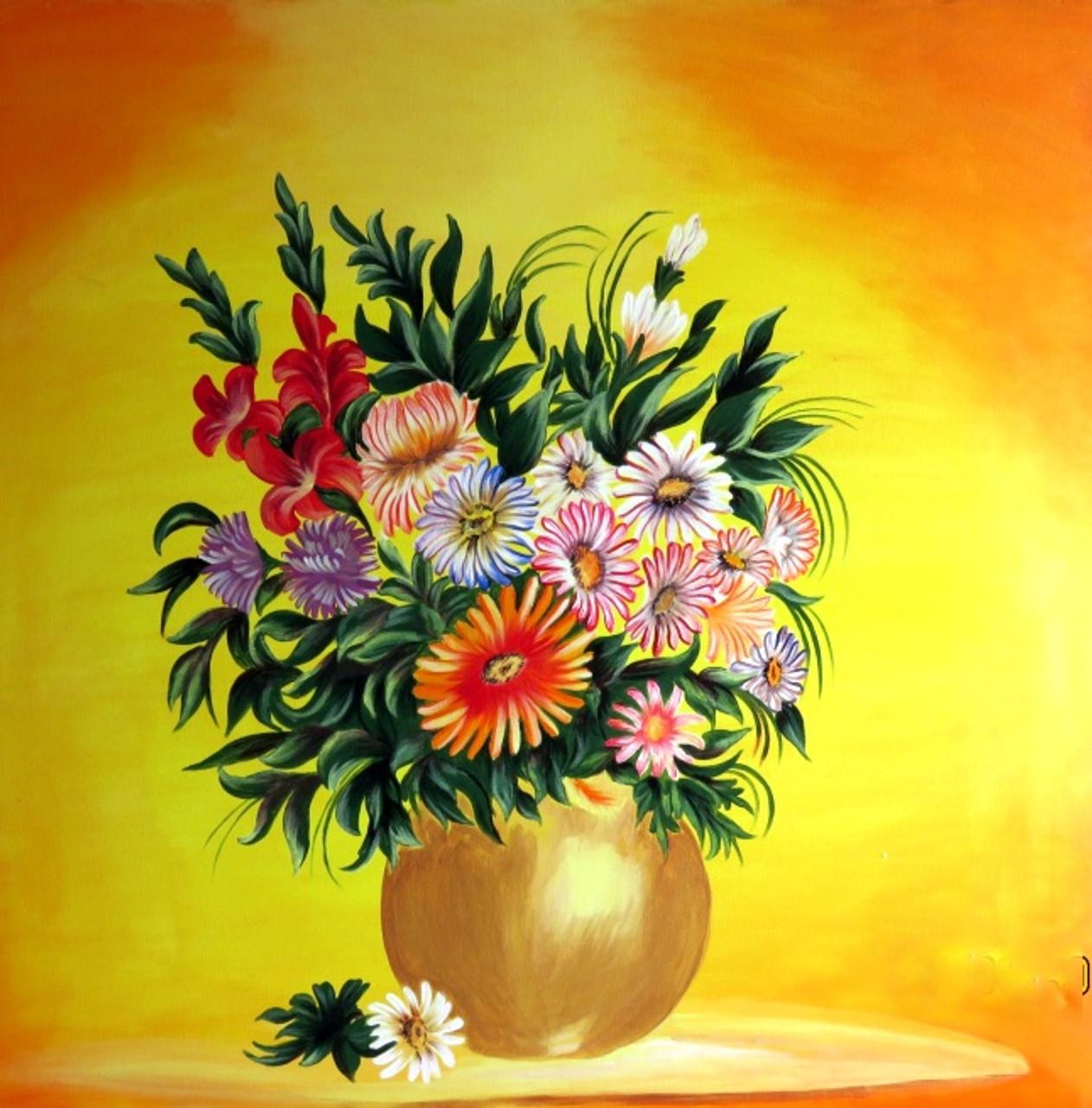 Buy Flower Vase By Rahat Kazmi Rs 13090 Codeartrtki043636