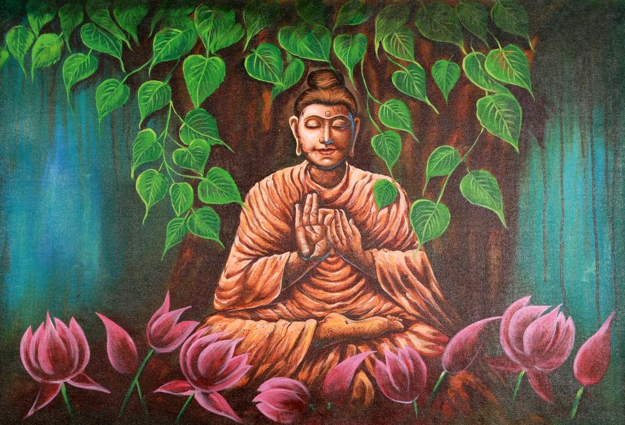 Buy Contemplation Buddha Meditates 12 By Community Artists Group