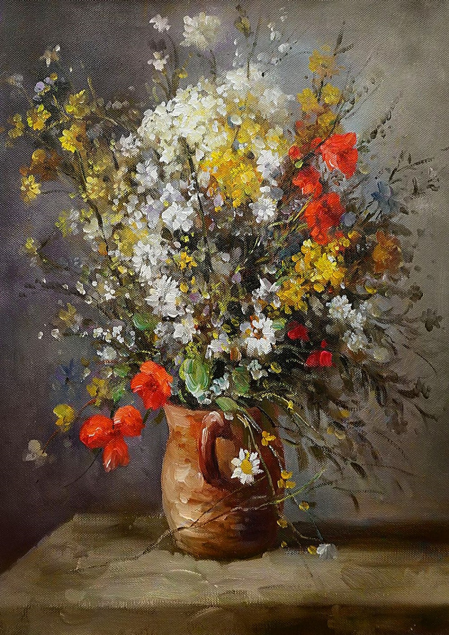 Buy beautiful flower vase by community artists group rs 6790 code red flowersbeautiful red flowerswhite flowersyellow flowerscolorful flowers izmirmasajfo Image collections