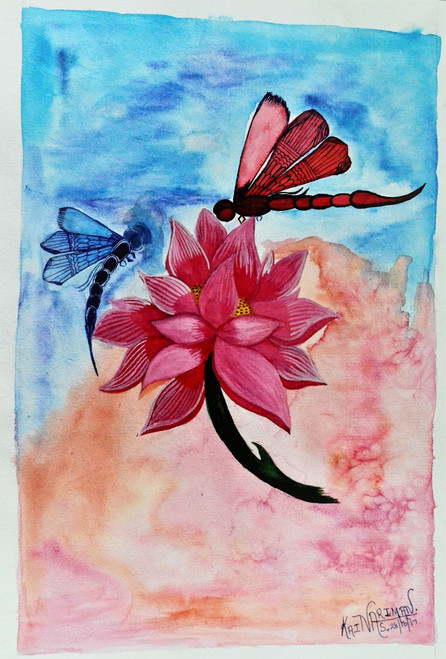 Shop Lotus, Floral, Flowers Paintings Online