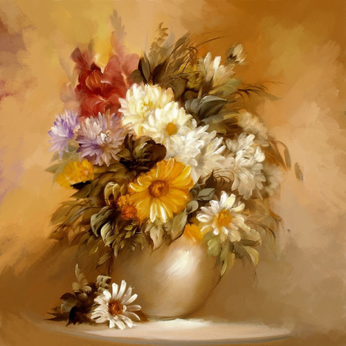 Shop Daisy Floral Flowers Paintings Online