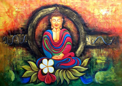 buy buddha in meditation 02 by community artists group rs 7290