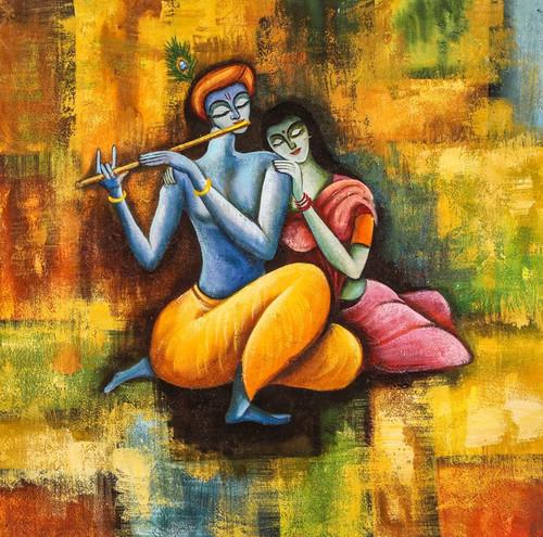Radha Krishna Love Forever