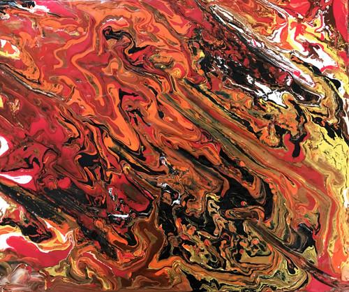 buy lava handmade painting by geeta vashistha code art 4166 26545
